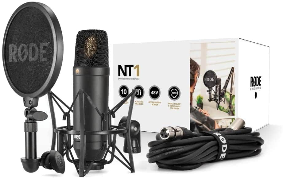 Rode NT1KIT Cardioid Condenser Microphone